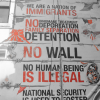 No Immigrant is Illegal Mural